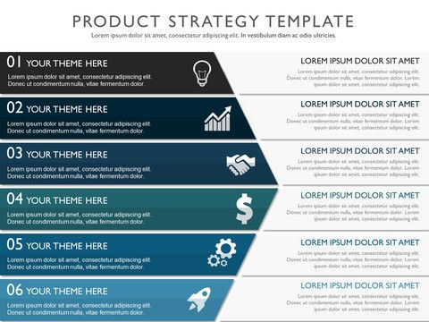 Product Strategy Template  Strategy Planning    Template