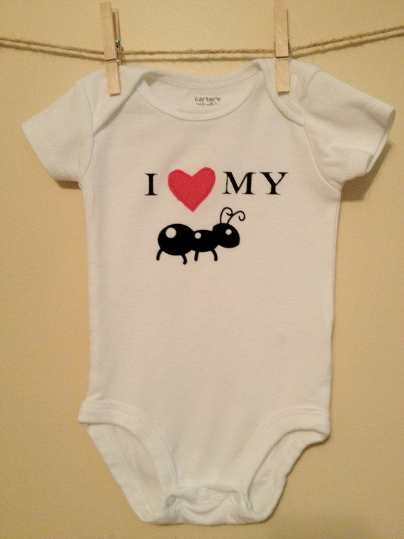 I Love My Aunt Onesie By Thelittlebrownboot On Etsy 15