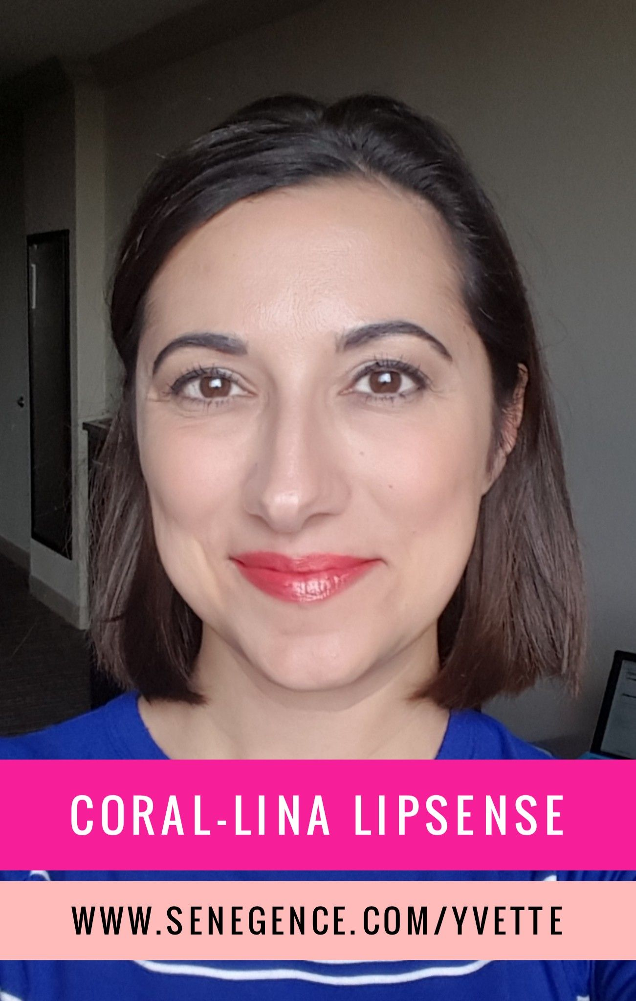 New Limited Edition Coral Lina Lipsense A Beautiful Coral Lip Color