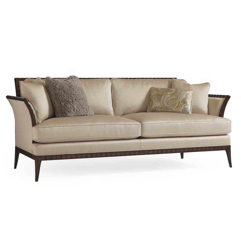 U003cbr /u003e Classical Details Add Everyday Panache To This Stylish Sofa. A Go  With The Grain Finish Enhances The Natural Grain Of The Wood And ...