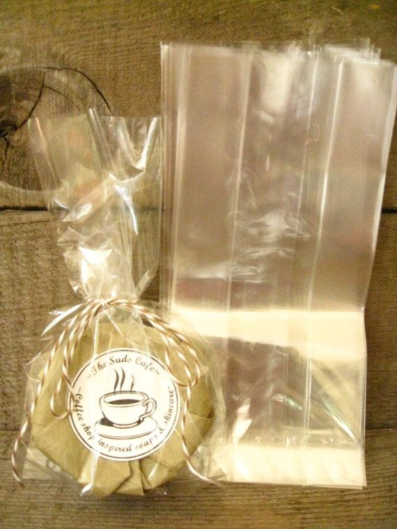 Gusseted Cellophane Bags Party Favor Wedding Gift Clear
