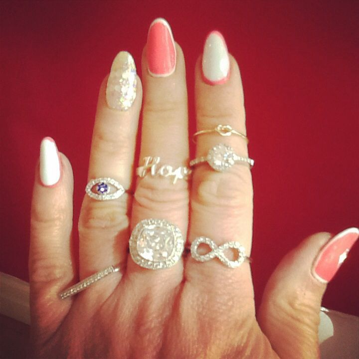 Pink nail art nail de kaen vancouver rings jeweliette pink nail art nail de kaen vancouver rings jeweliette jewellery prinsesfo Image collections
