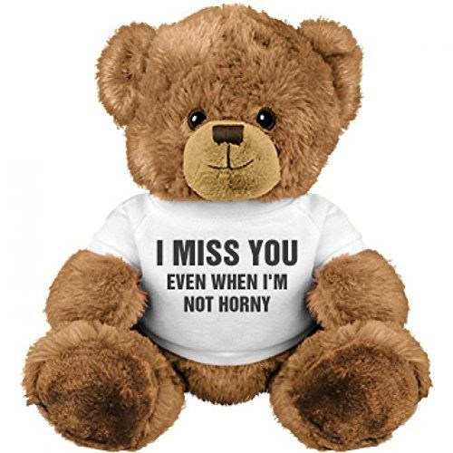 Funny Valentineu0027s Day Gift Bear: Medium Plush Teddy Bear