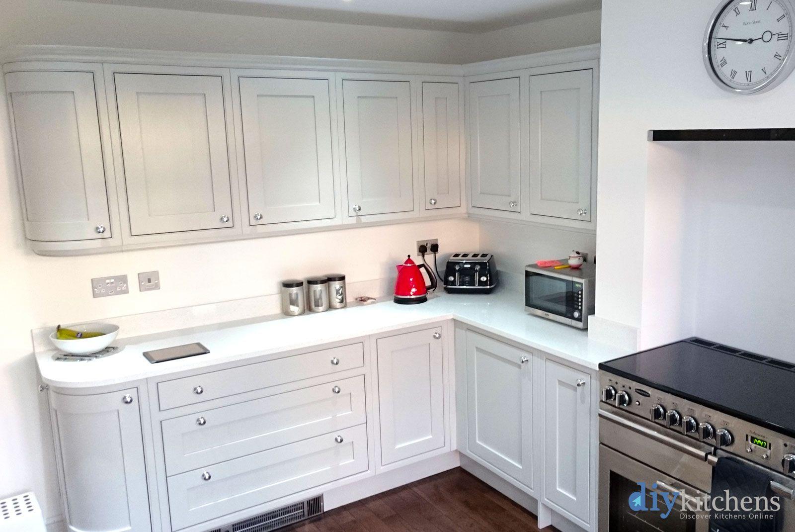 An Innova Helmsley Light Grey Inframe Kitchen Real Customer