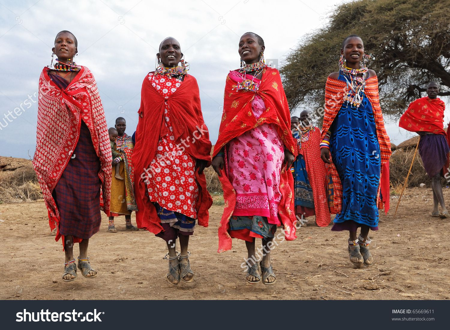 Image Result For African Tribe Women Group Lady Boss Tribe Logo - Maasai tribe wild animals attend wedding kenya