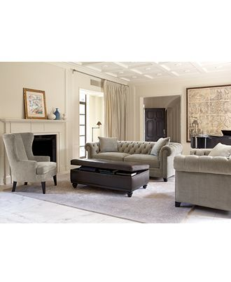 Martha Stewart Collection Saybridge Living Room Furniture ...