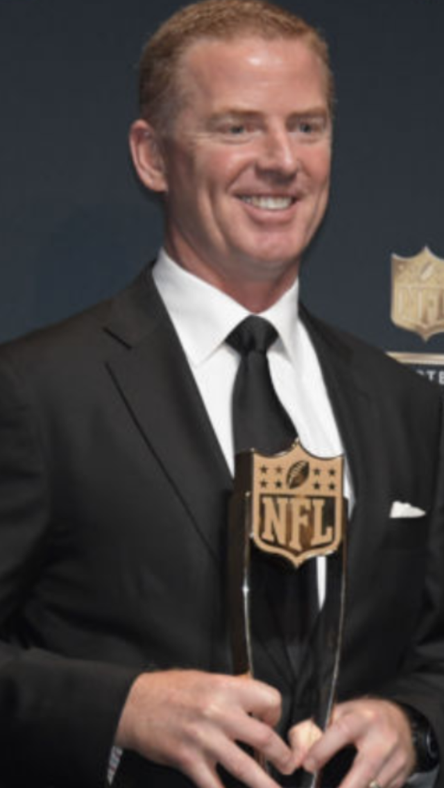 Jason Garrett Coach of the Year. Another classy Cowboy