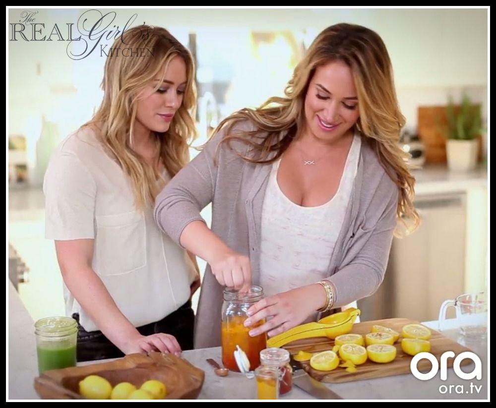 Turmeric shot - Real Girls Kitchen Haylie Duff Hilary Duff ...