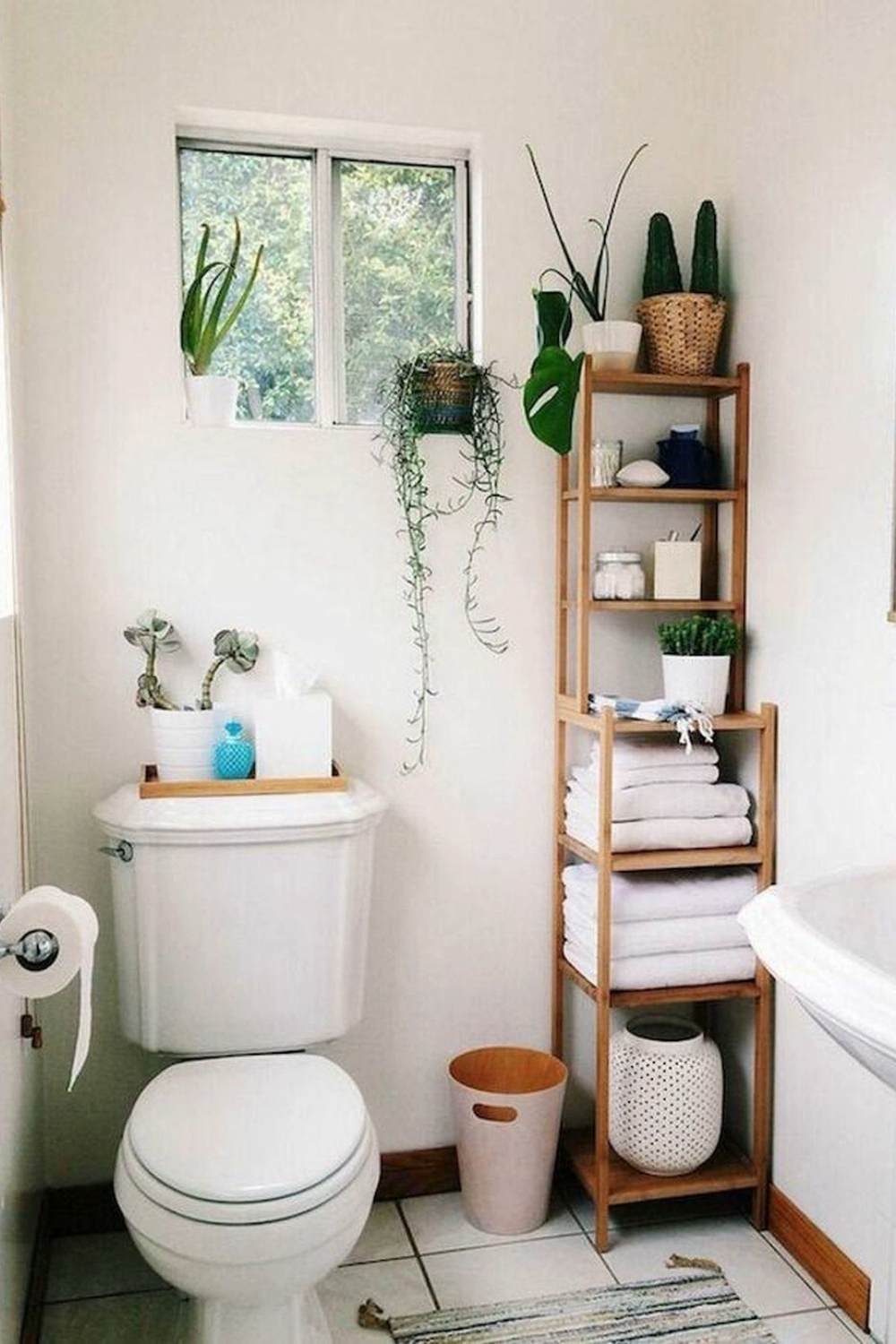 Photo of 35 Delightful Bathroom Storage Design Ideas