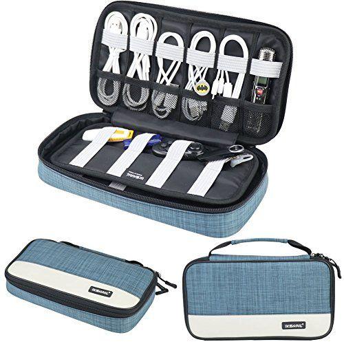 Iksnail Travel Electronics Accessories Carrying Storage Bag @ September 21 2019 at 10:04AM. #AmazonBags #AmazonHandbags #BagsDeals #goldbox #discount #deals #usa