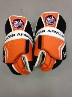 Under Armour Custom A L L Pro Box Lacrosse Goalie Gloves Goalie Gloves Box Lacrosse Lacrosse Goalie