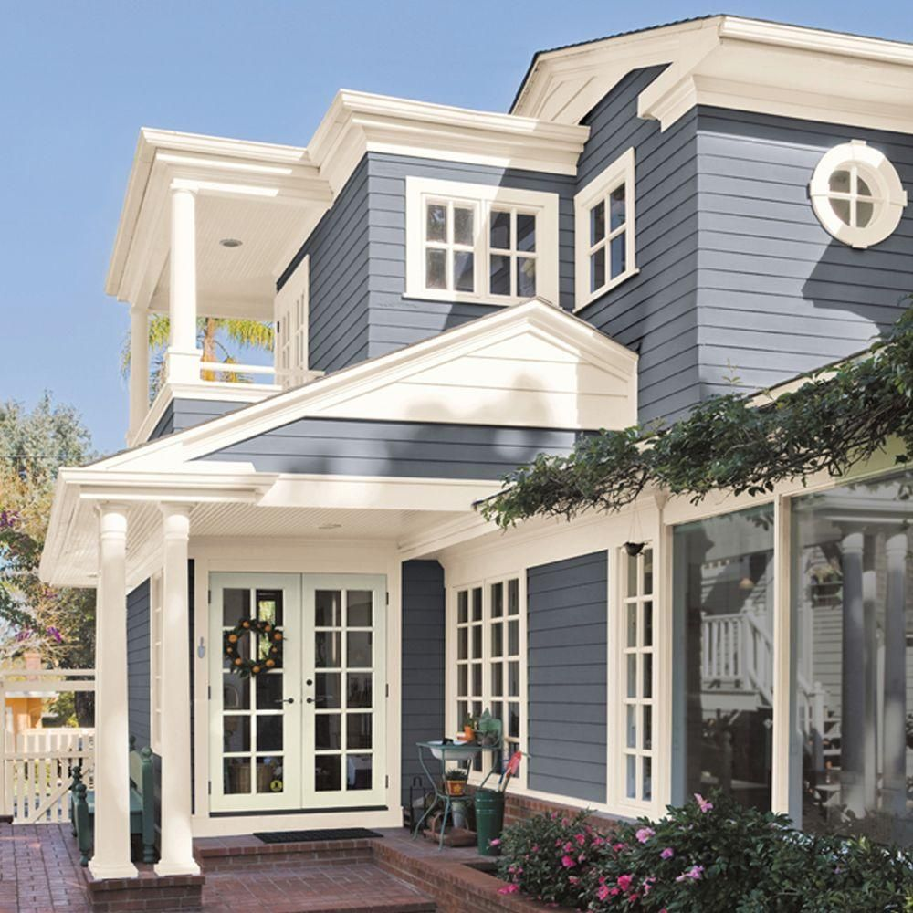 Ultra Pure White Flat Exterior Paint