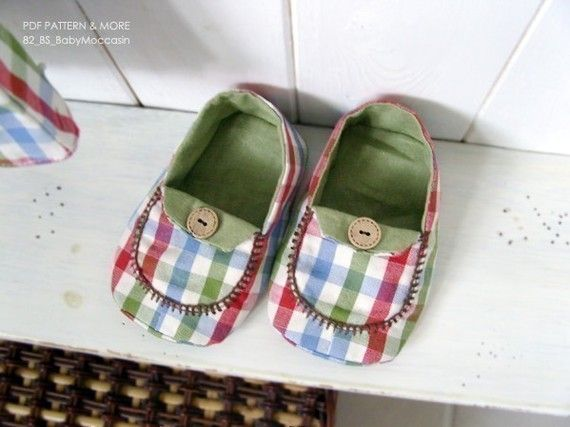 no 082 Micky Baby Moccasins Sewing PDF Pattern by sewingwithme1, $4.50