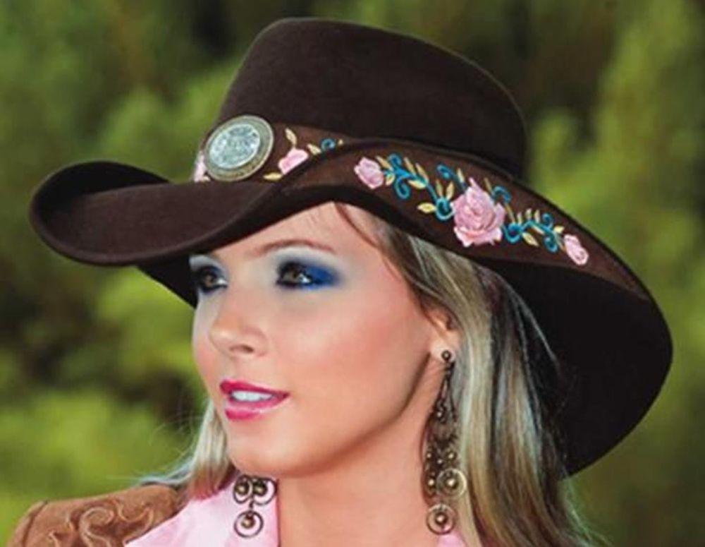 NEW Montecarlo Bullhide Hats HEART BREAKER Wool Felt Women s Western Cowboy  Hat  MontecarloBullhideHats  Cowboy 10e39f1c60f