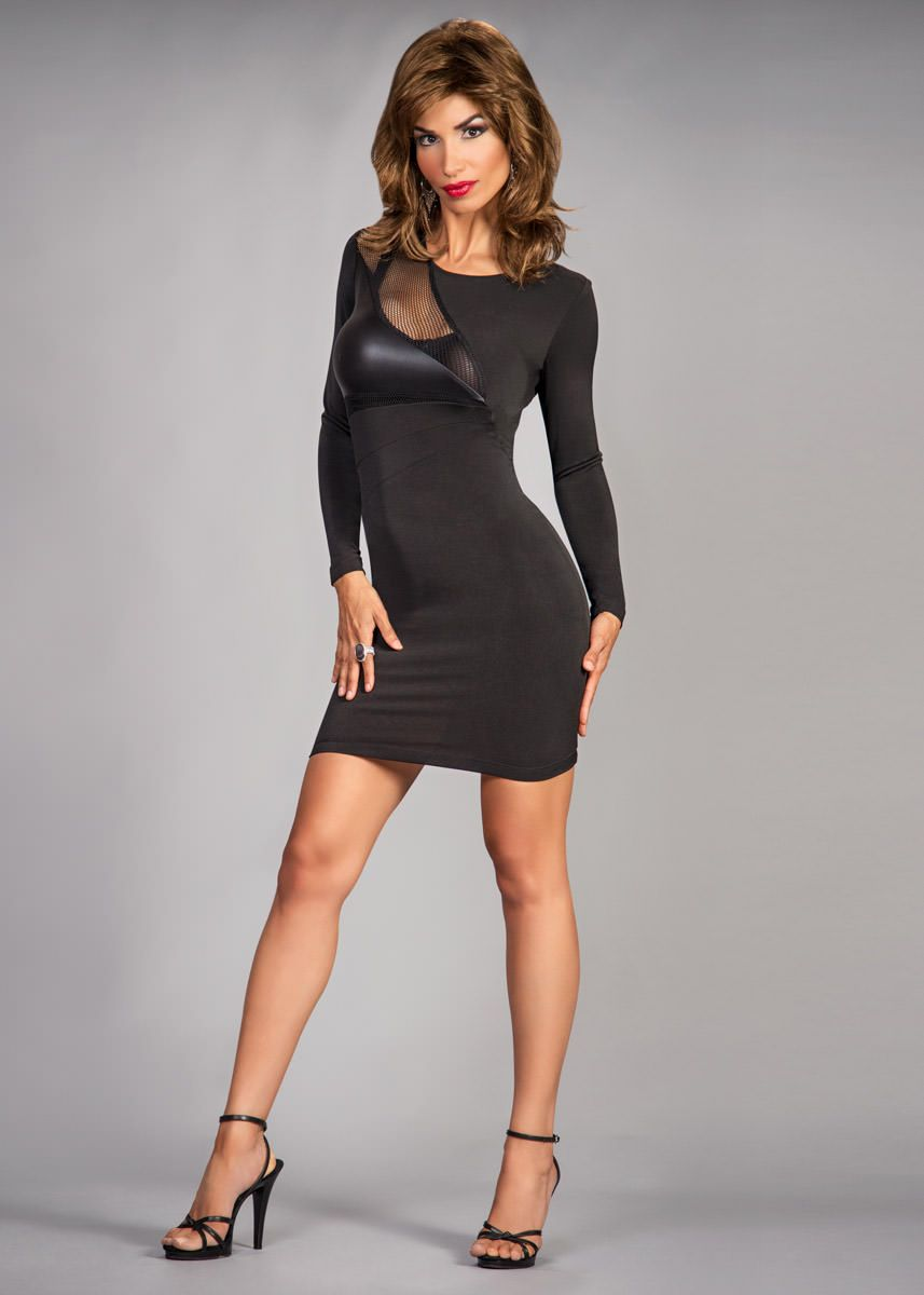 premier clothing brand for the crossdresser | suddenly, fishnet and