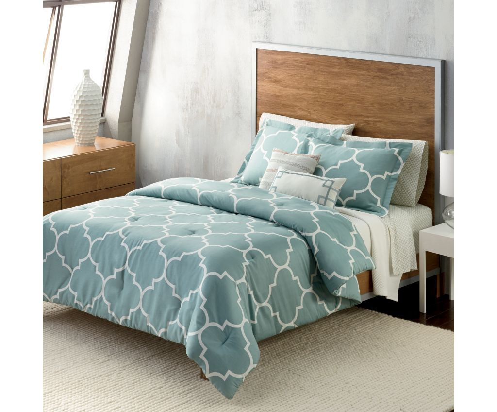 pc scroll of bedding formidable leaves trellis comforter embroidery picture reversible size floral design ansonia waterford grey blue gray by full