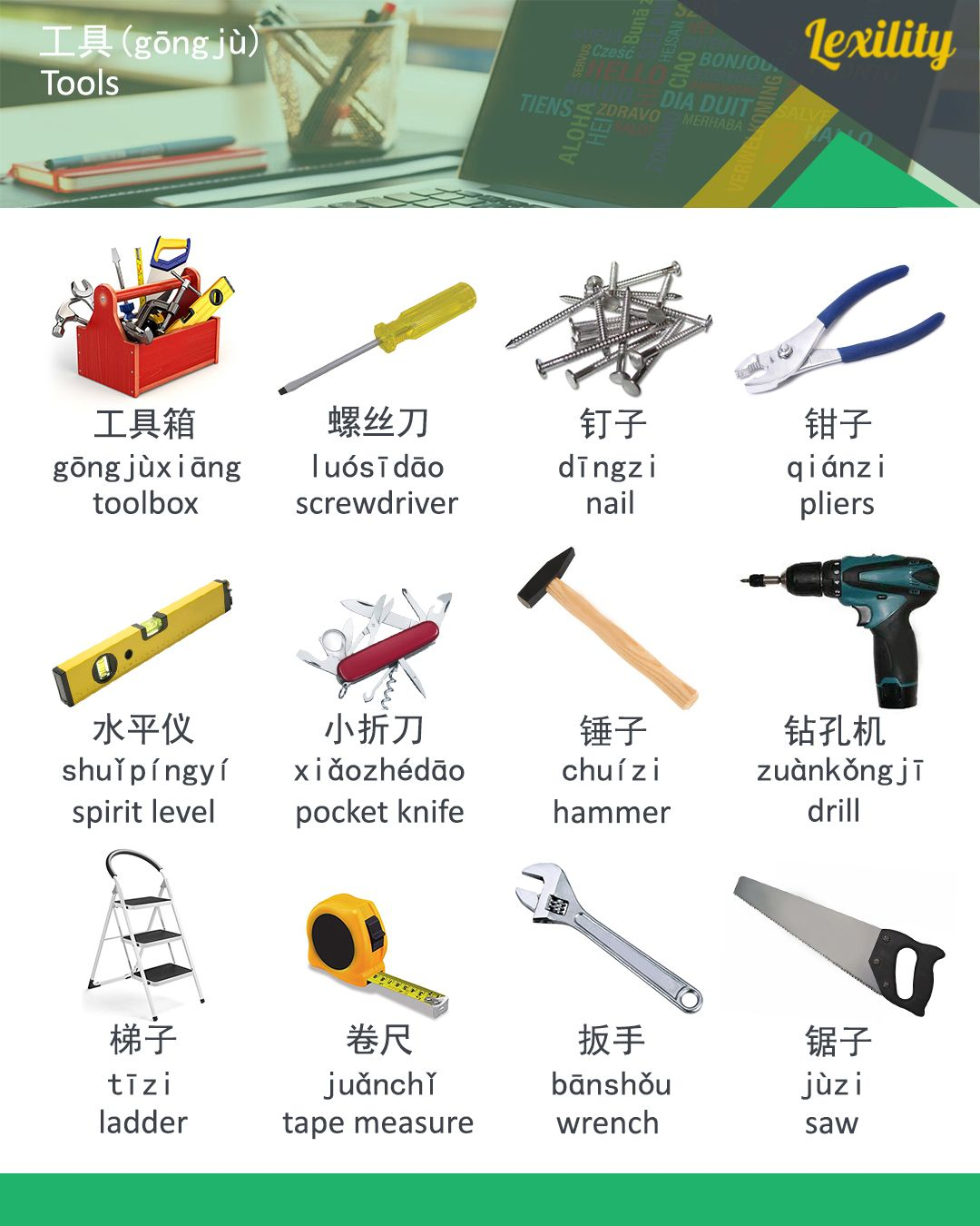 Lexility Free Foreign Language Learning Tools Chinese