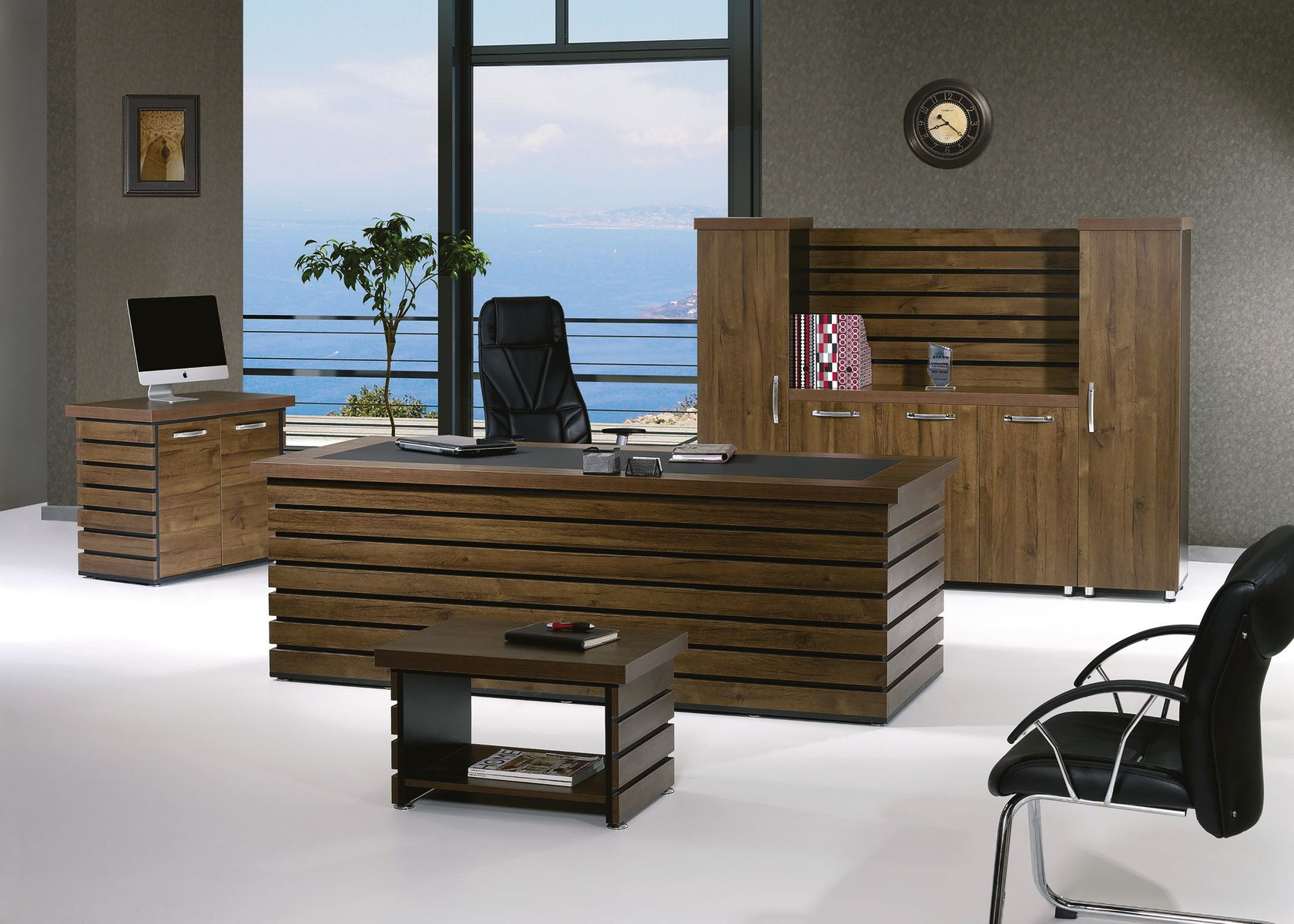 Casa Mare Elise 4 Pieces Office Furniture Set Home Office