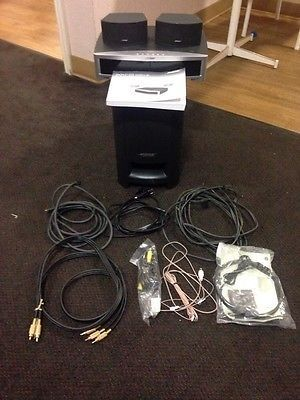 bose 321. nice bose 321 gs series iii dvd home entertainment system-hdmi - for sale check