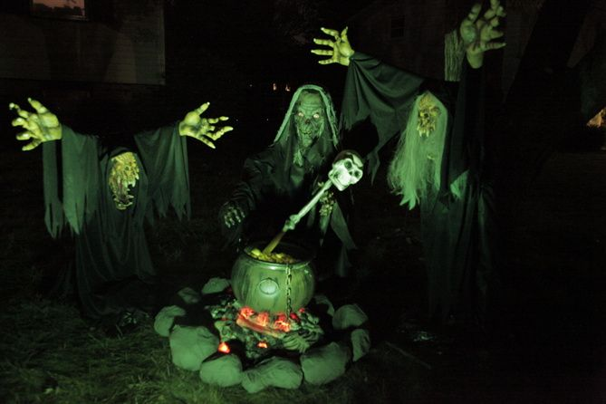 Photo 1 Of 1 From Witches And Cauldron Spirit Halloween Halloween Essentials Halloween Props Diy