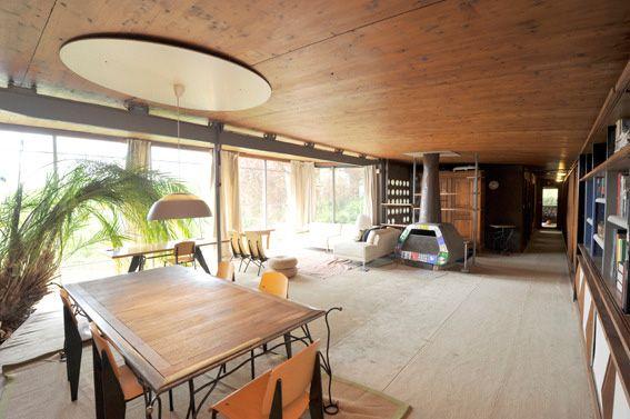 Visiet de la maison jean prouv nancy shelter 40 39 s 50 - Maison jardin furniture nancy ...