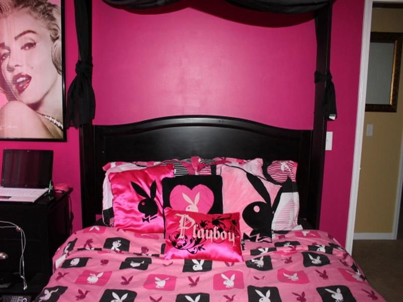 Playboy Bunny Bed Room Decors Ideas Sexy Or Tacky