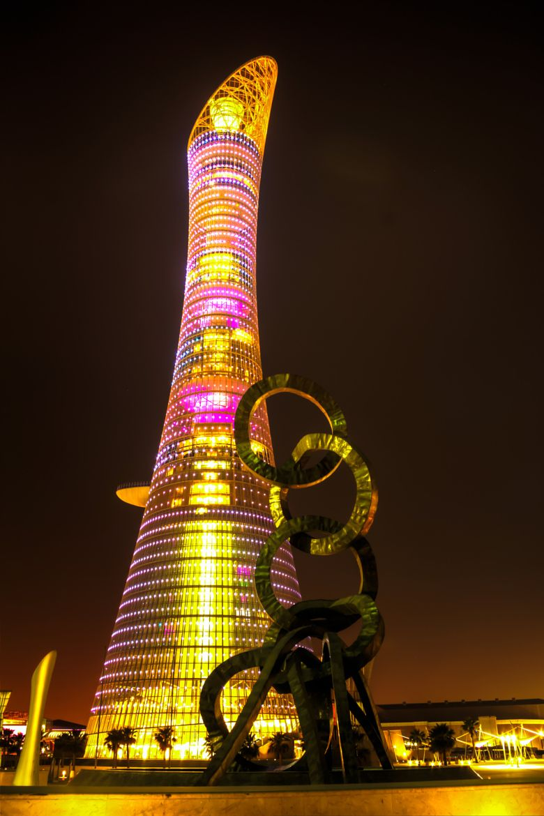 And 6 lusail katara hotel doha qatar pictures to pin on pinterest - The Torch Tower Doha Qatar