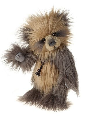 Charlie 2014 Bear-CB141485 15 Inches created in plumo, jointed