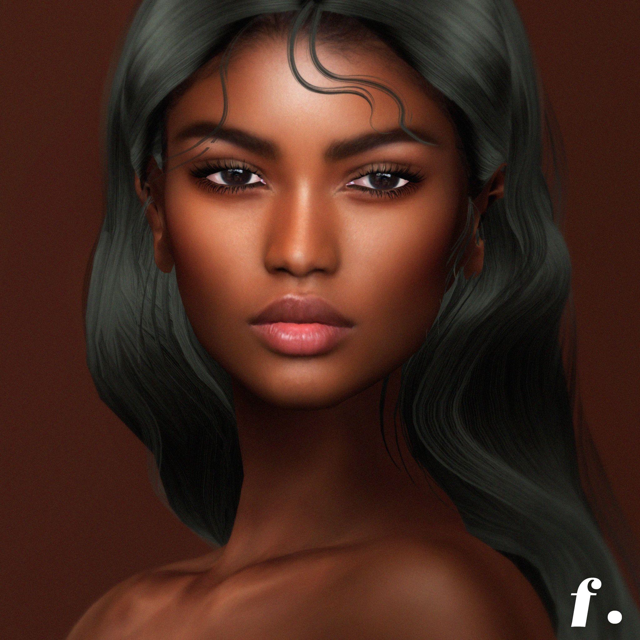 FLESH x ULTRA Amanita for Catwa&Omega in 2020 Black