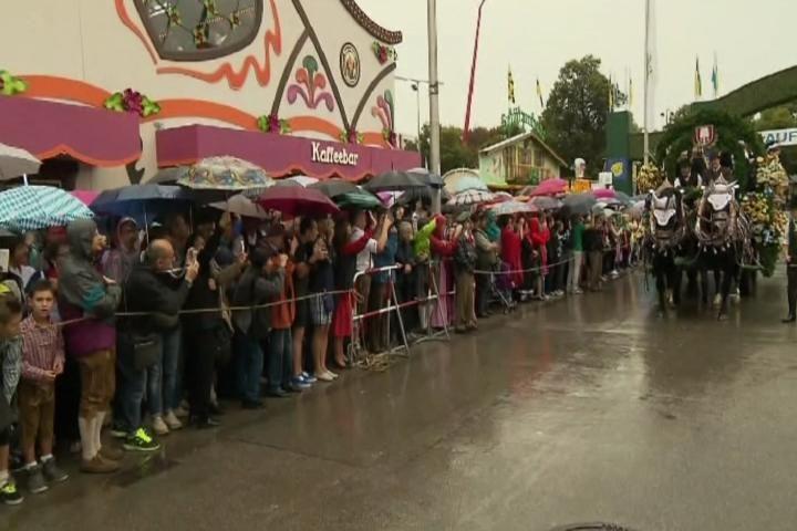 Oktoberfest Begins in Germany