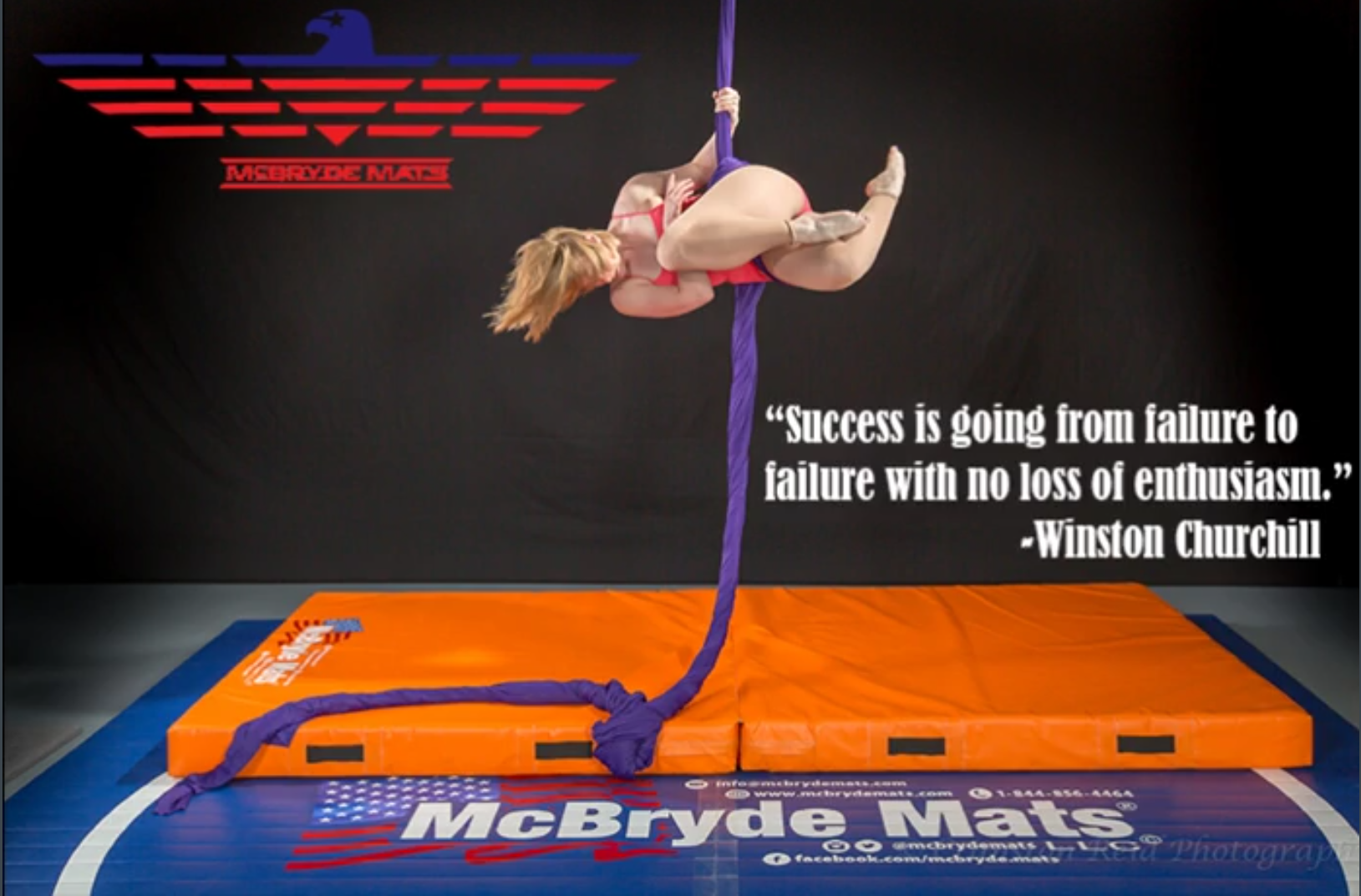 Success is going from failure to failure with no loss of enthusiam https://mcbrydemats.com/shop/landing-mats.html