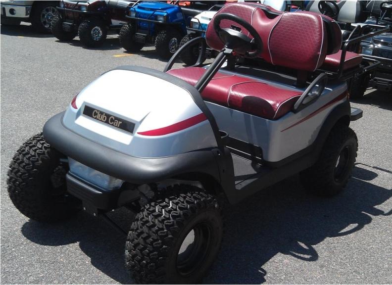 Custom Club Car shown at 2013 Masters. If you'd like to own this one of a kind cart go to http://clubcardealer.com/locator, contact your dealer, and mention this vehicle. #3X1338-924564