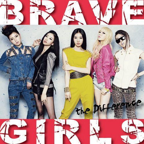 韓國女子團體唱片專輯封面設計 - Google 搜尋 | Brave girl, Album cover design, Brave