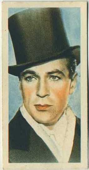 Gary Cooper 1934 Godfrey Phillips Film Stars Tobacco Card #24 on Immortal Ephemera  http://immortalephemera.zippykid.netdna-cdn.com/wp-content/gallery/1934-godfrey-phillips-film-stars/24a-gary-cooper.jpg