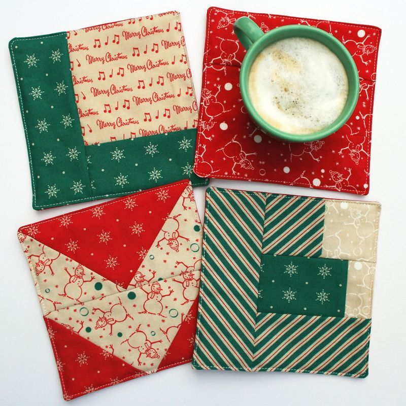 Love Coasters by Cosmo Cricket Christmas Gifts Pinterest