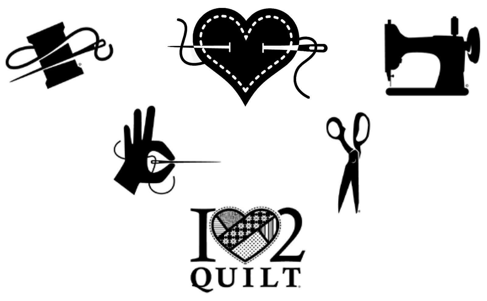 Image Result For Sewing Clipart Black And White