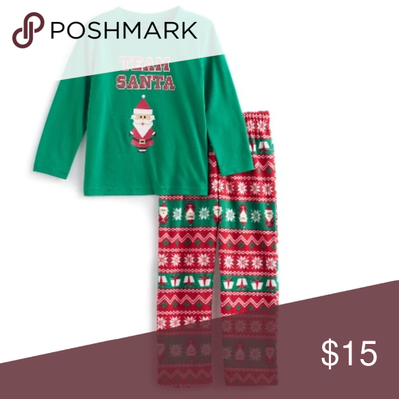 Jammies For Your Families - 2 PC Pajama Set (NWT)