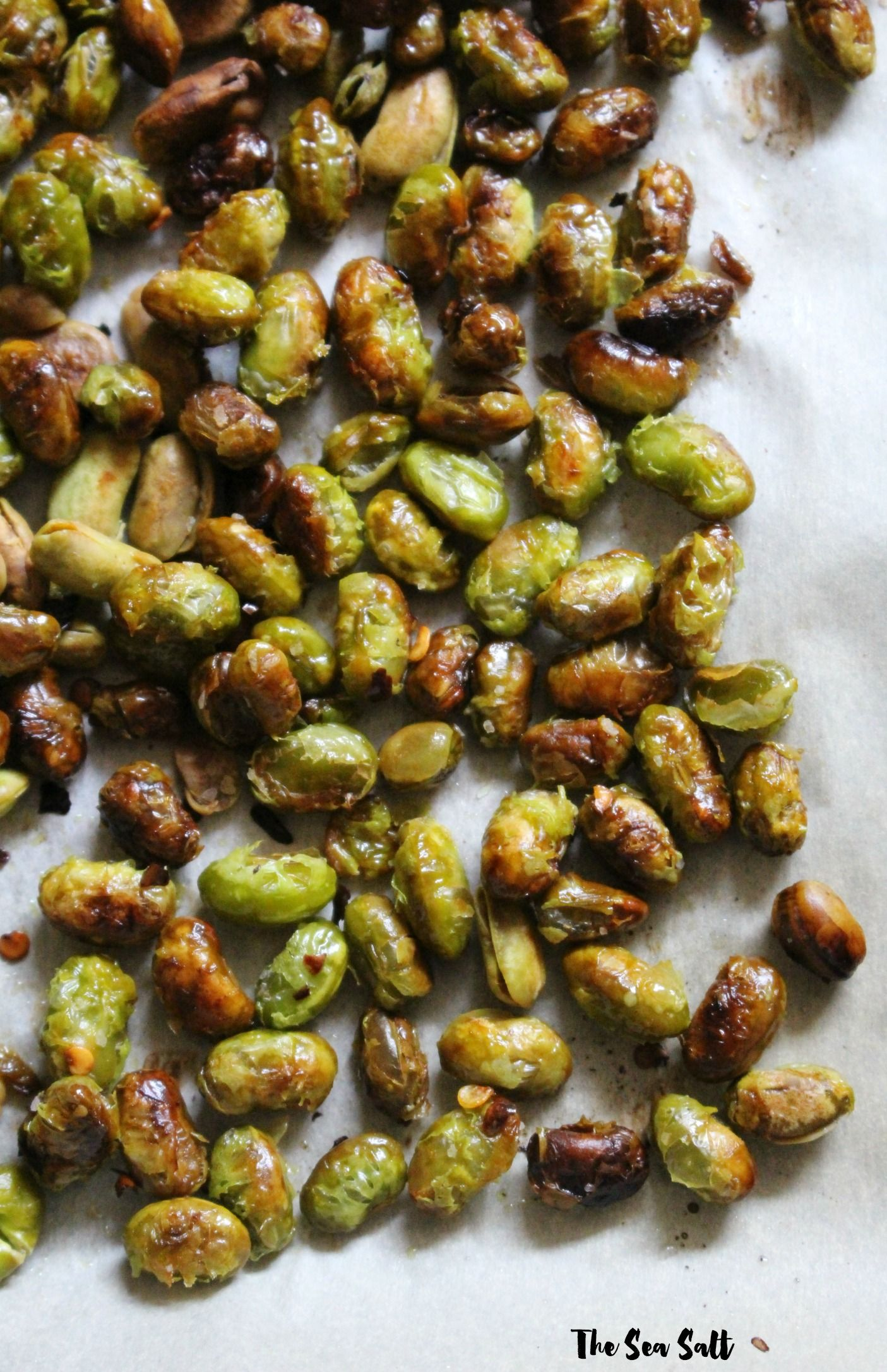 Crunchy Roasted Edamame Recipe Healthy Vegan Snacks Roasted