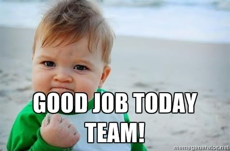 Good Job Team Meme Fist pump baby - good job | Funny Stuff ...
