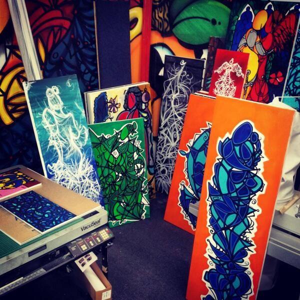 I. D ART FRAME SHOP...WORKING ON @IamAlexMijares ARTWORK AT i.d art frame shop @i.d. art