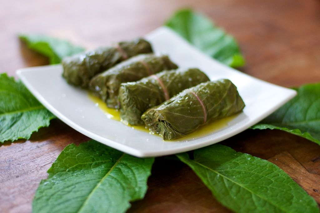 Fat of the Land: Dock Dolmas