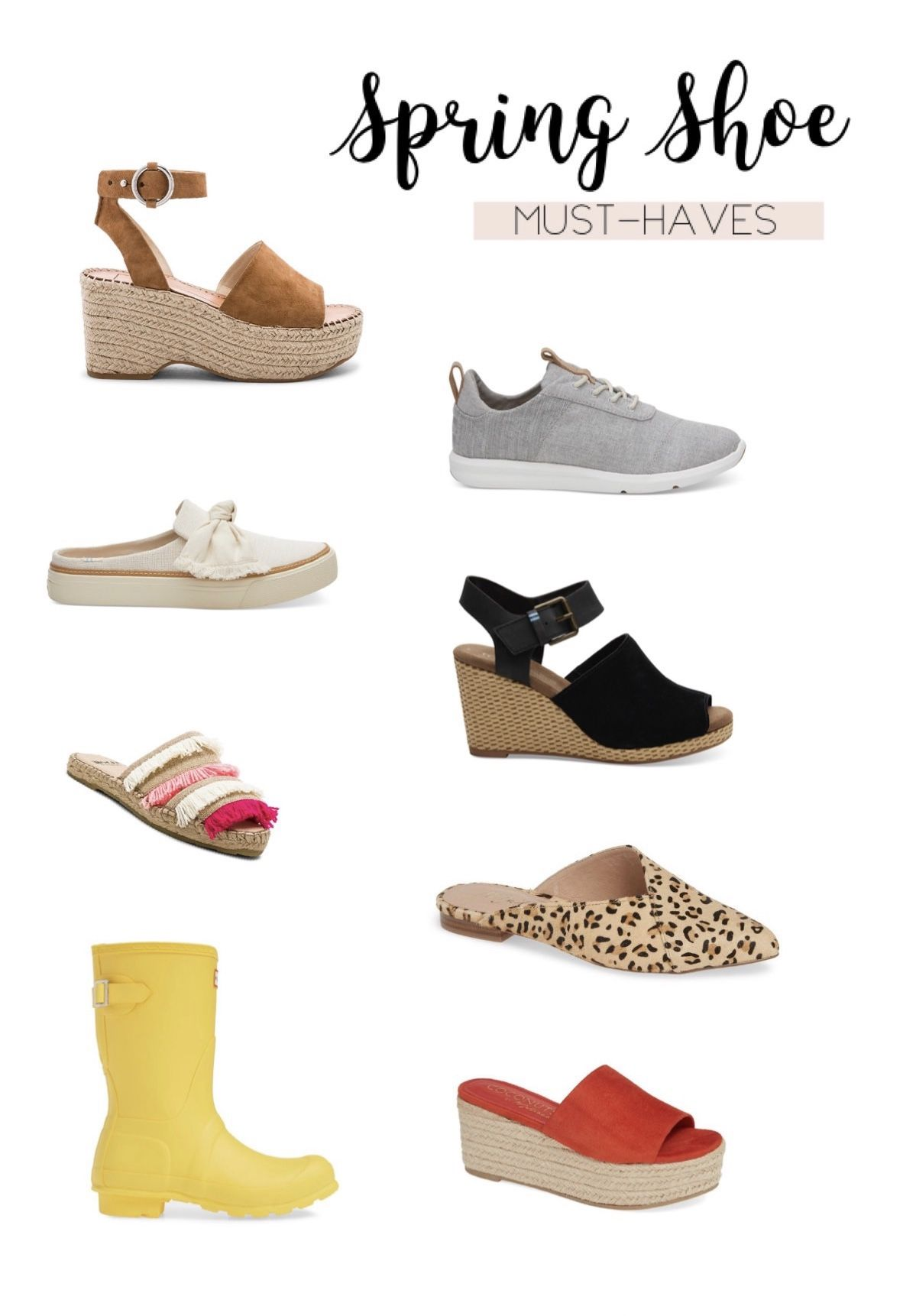 Spring 2019 Shoe Must-Haves - Kiteen's