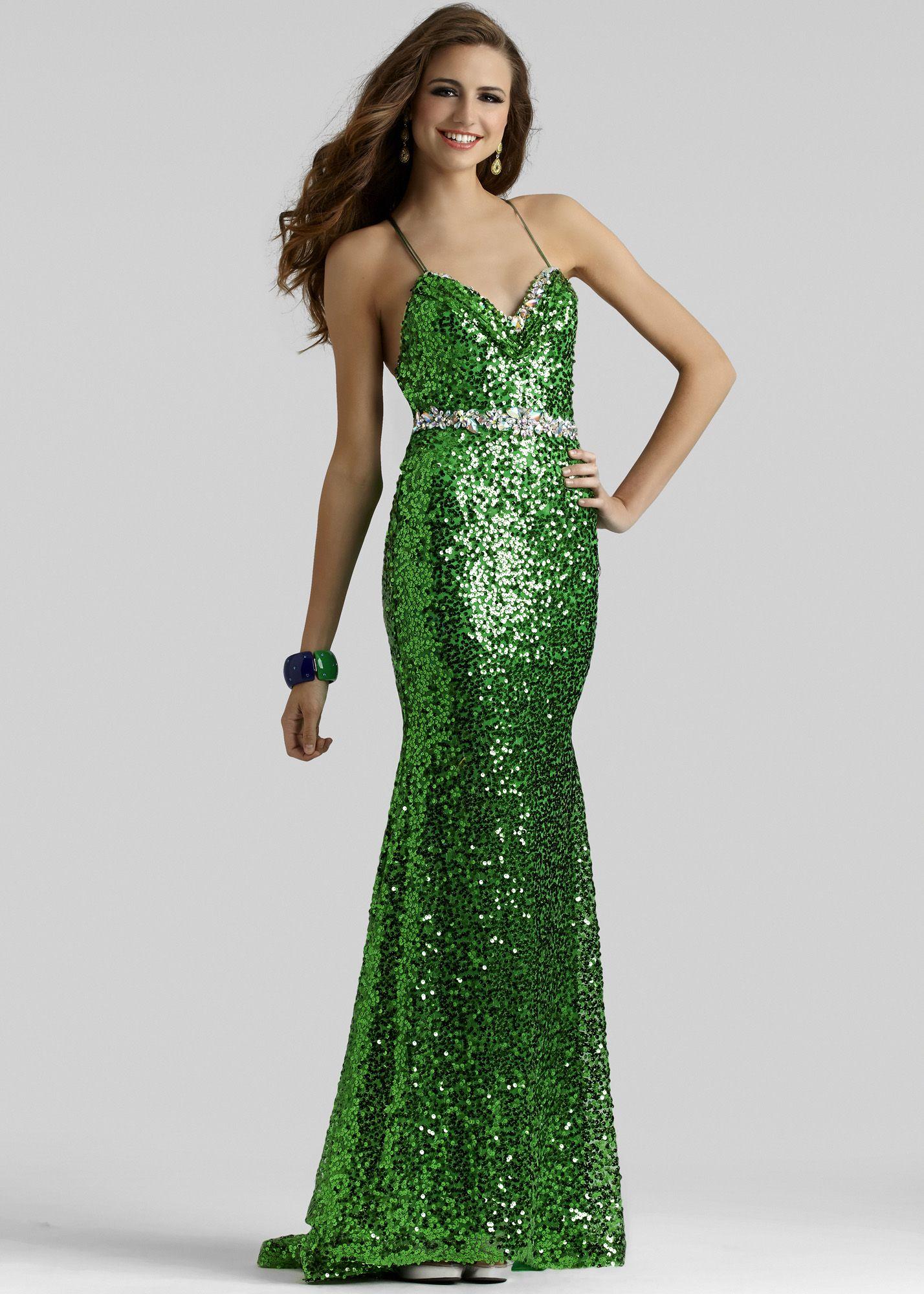 Clarisse emerald one shoulder prom dress thanks
