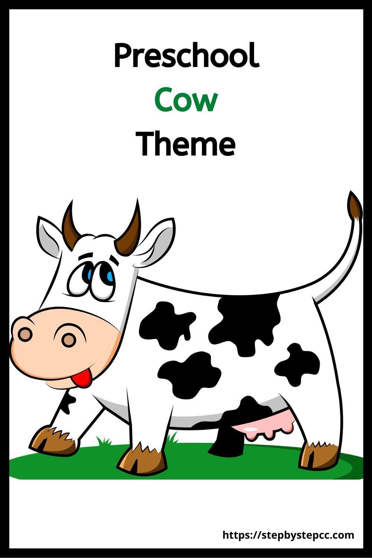 Preschool Cow Theme Preschool Preschool Themes Toddler Activities [ 1500 x 1000 Pixel ]