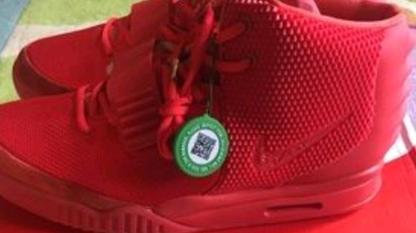 271b2301599 Nike Air Yeezy 2 W  STOCKX tag     attached Red Octobers! Size 12  legit!!          fashion  clothing  shoes  accessories  mensshoes   athleticshoes (ebay ...