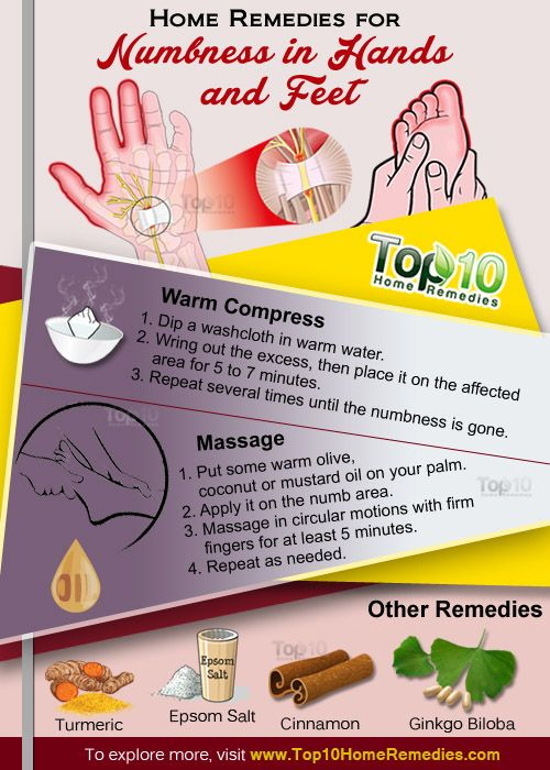 Home Remedies For Numbness In Hands And Feet Skin Hair Feet