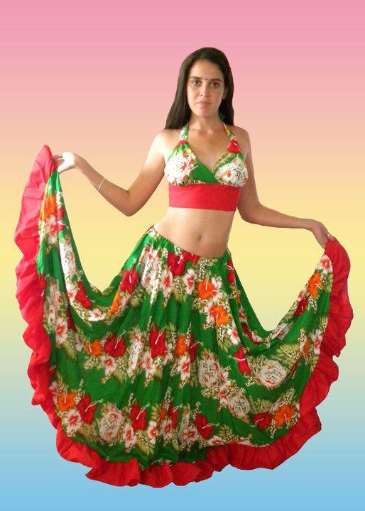 Une tenue traditionnelle de l'île de la Réunion