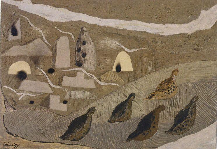 Benjamín Palencia. Tierras silúricas / Las perdices, 1931. MUSEO DE REINA SOFIA