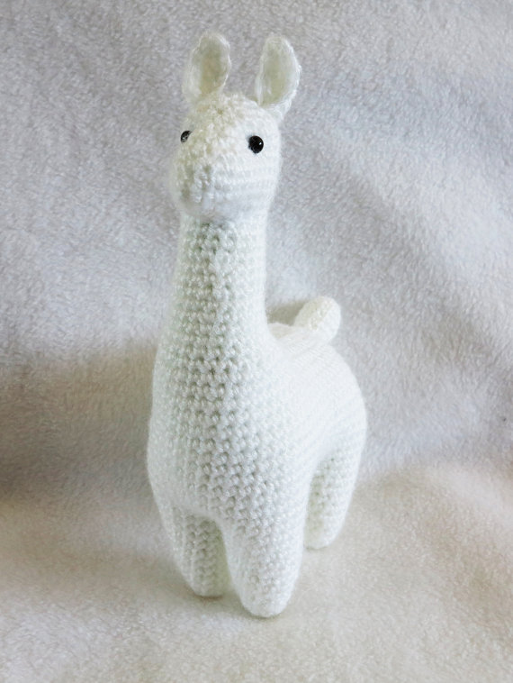 CROCHET PATTERN: Llama Amigurumi Plush   Stuff I wanna do ...