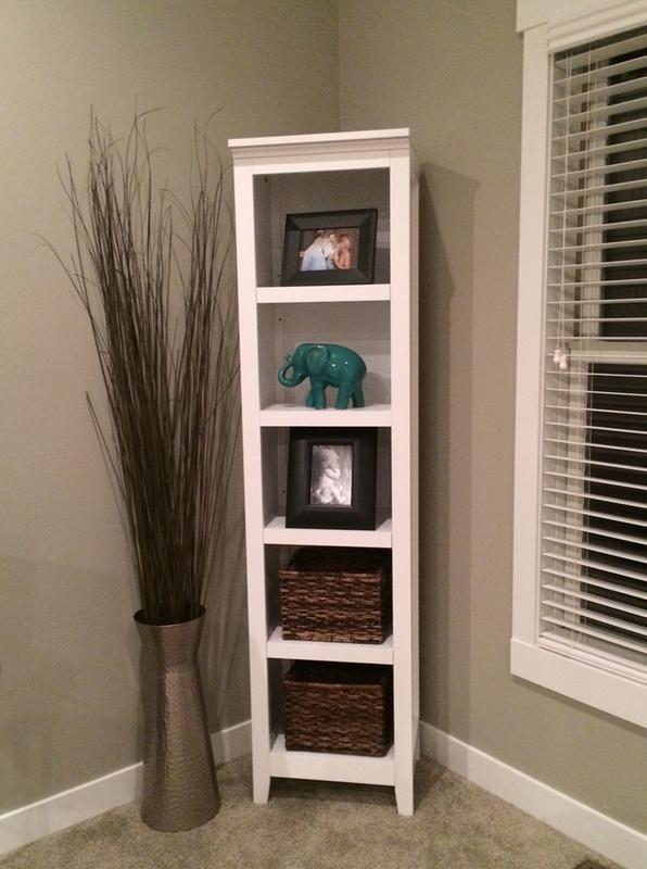 Carson 72 2 Quot Narrow 5 Shelf Bookcase White Threshold
